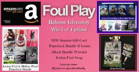 Foul Play Giveaway